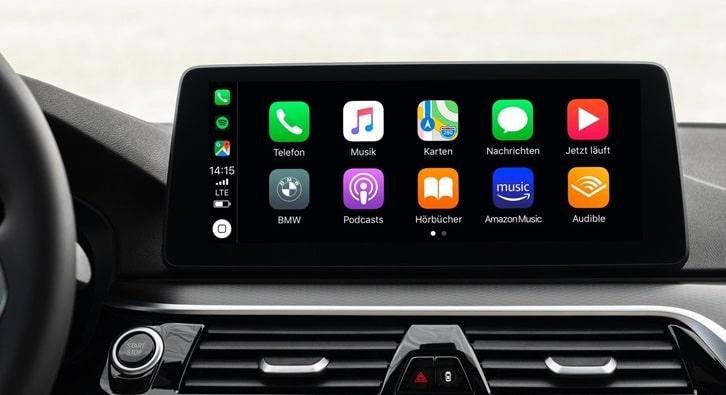 Apple Carplay en fullscreen