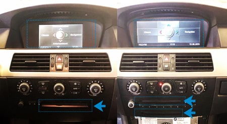 BMW - iDrive 1 Professionel VS Business