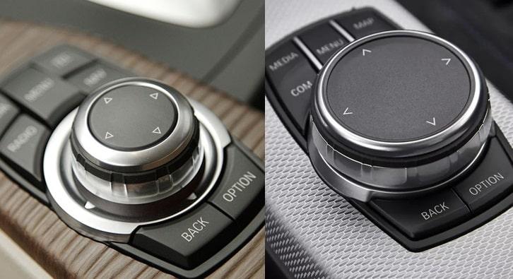 BMW - Molette iDrive 2 et 3